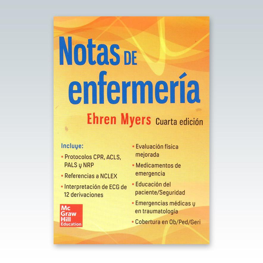 Notas de Enfermería. 4ª Edición - 2015 - Edimeinter
